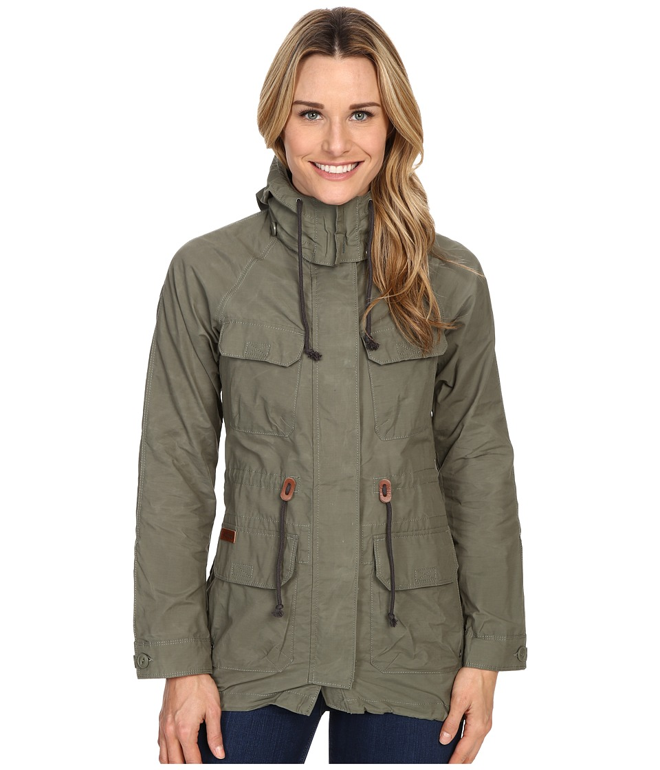 Columbia Tillicum Bridge Long Jacket Cypress Womens Coat