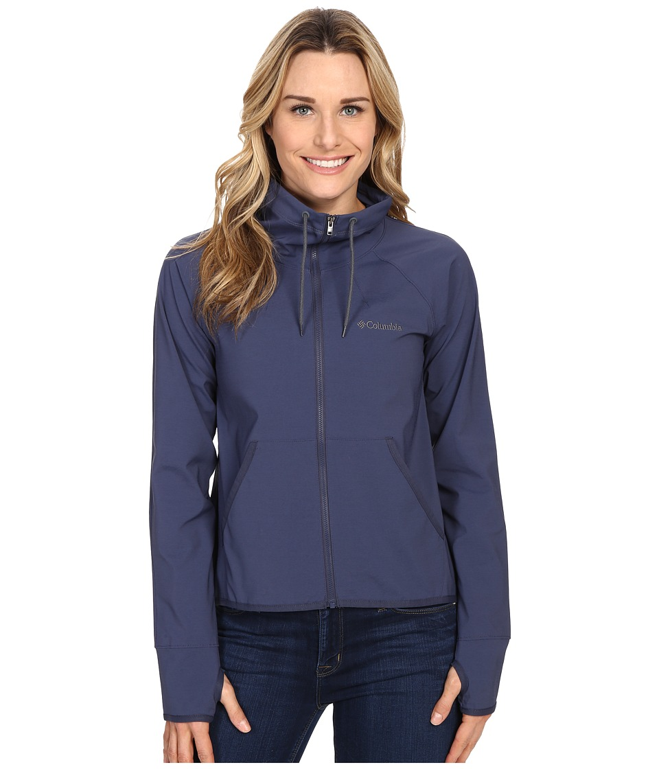 Columbia - Sweet As Softshell Jacket (Nocturnal Heather) Women