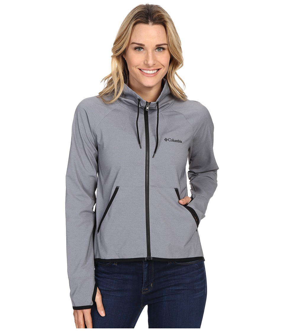 Columbia - Sweet As Softshell Jacket (Black Heather) Women