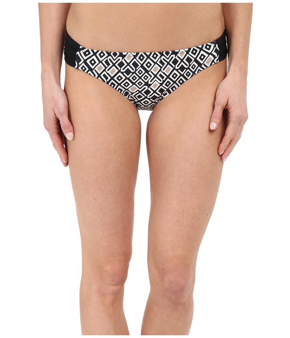 Athena Gold Coast Geo Banded Pant Black Womens Swimwear