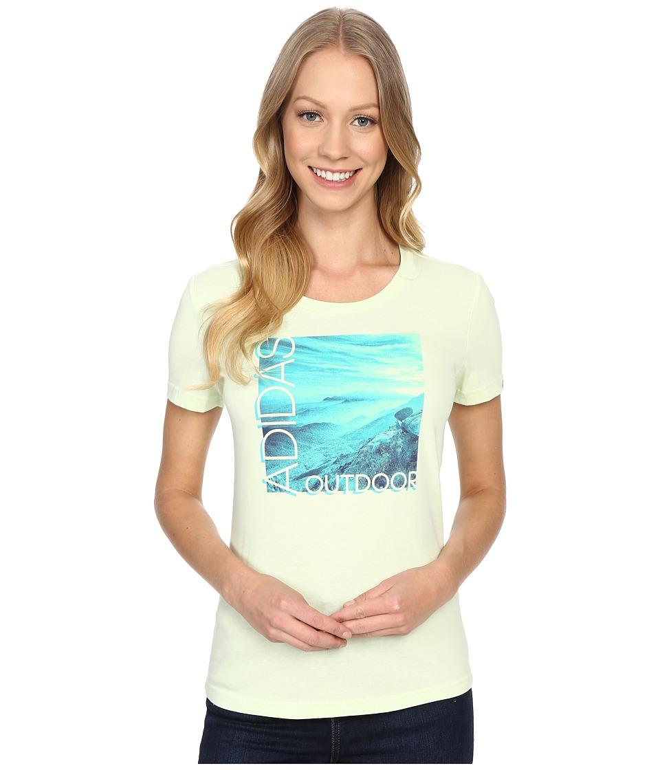 adidas Outdoor Adi Landscape Halo Womens T Shirt