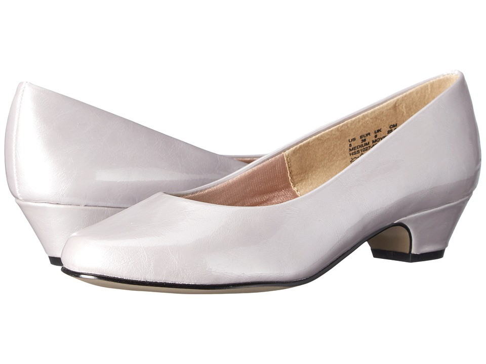 Soft Style Angel II Evening Haze Pearlized Patent Womens 1 2 inch heel Shoes
