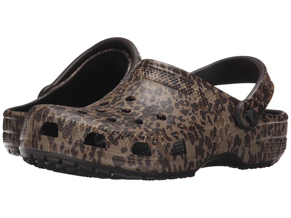 Crocs - Classic Leopard Print II (Leopard) Clog Shoes