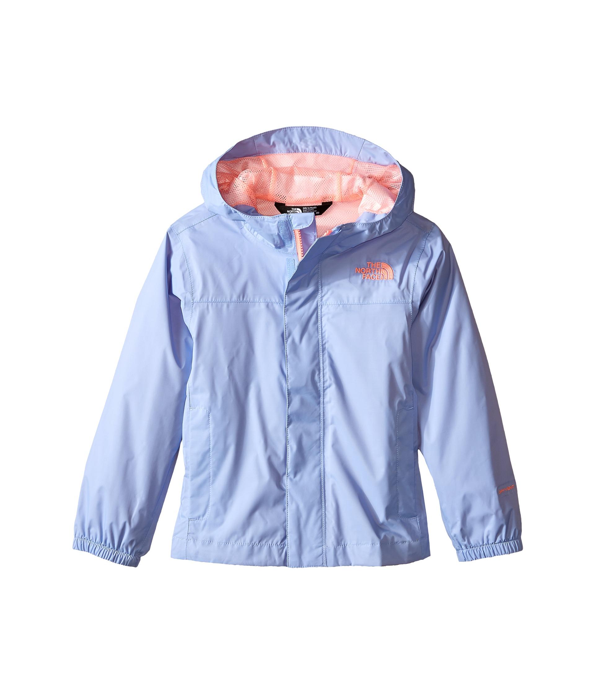 The North Face Kids Girls' Zipline Rain Jacket (Little Kids/Big ...