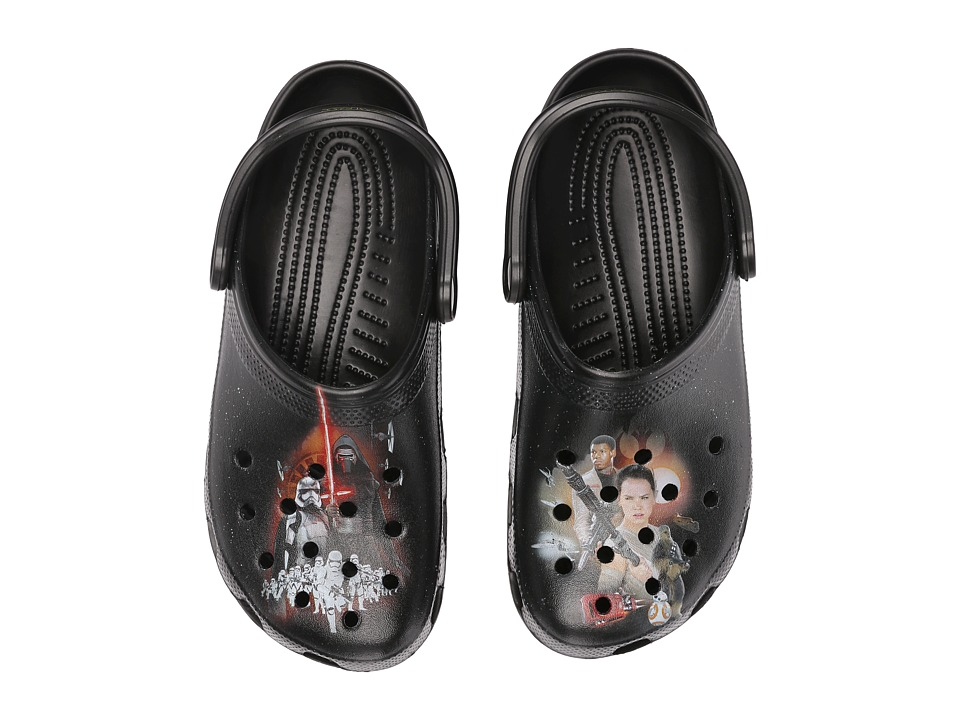 Crocs - Classic Star Wars Clog (Black) Clog Shoes