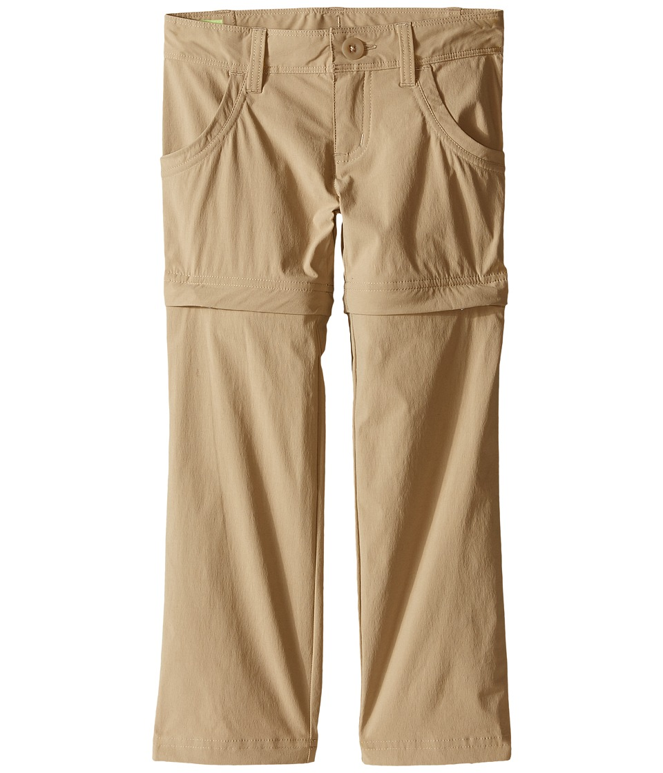 The North Face Kids Argali Convertible Hike Pants Little Kids/Big Kids Dune Beige/Dune Beige Girls Casual Pants