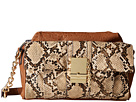 French Connection Izzy Crossbody (Tan/Nude Snake)