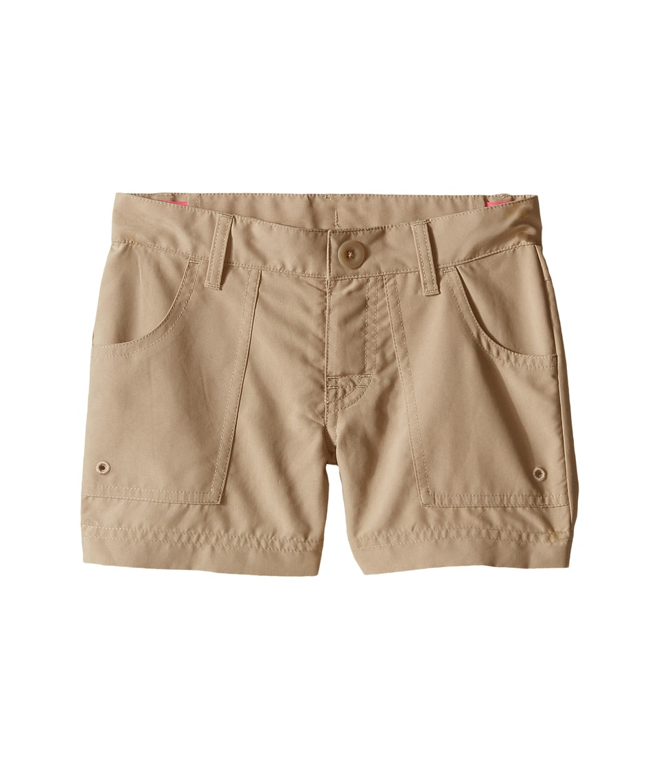 The North Face Kids Argali Hike/Water Shorts Little Kids/Big Kids Dune Beige/Dune Beige Girls Shorts