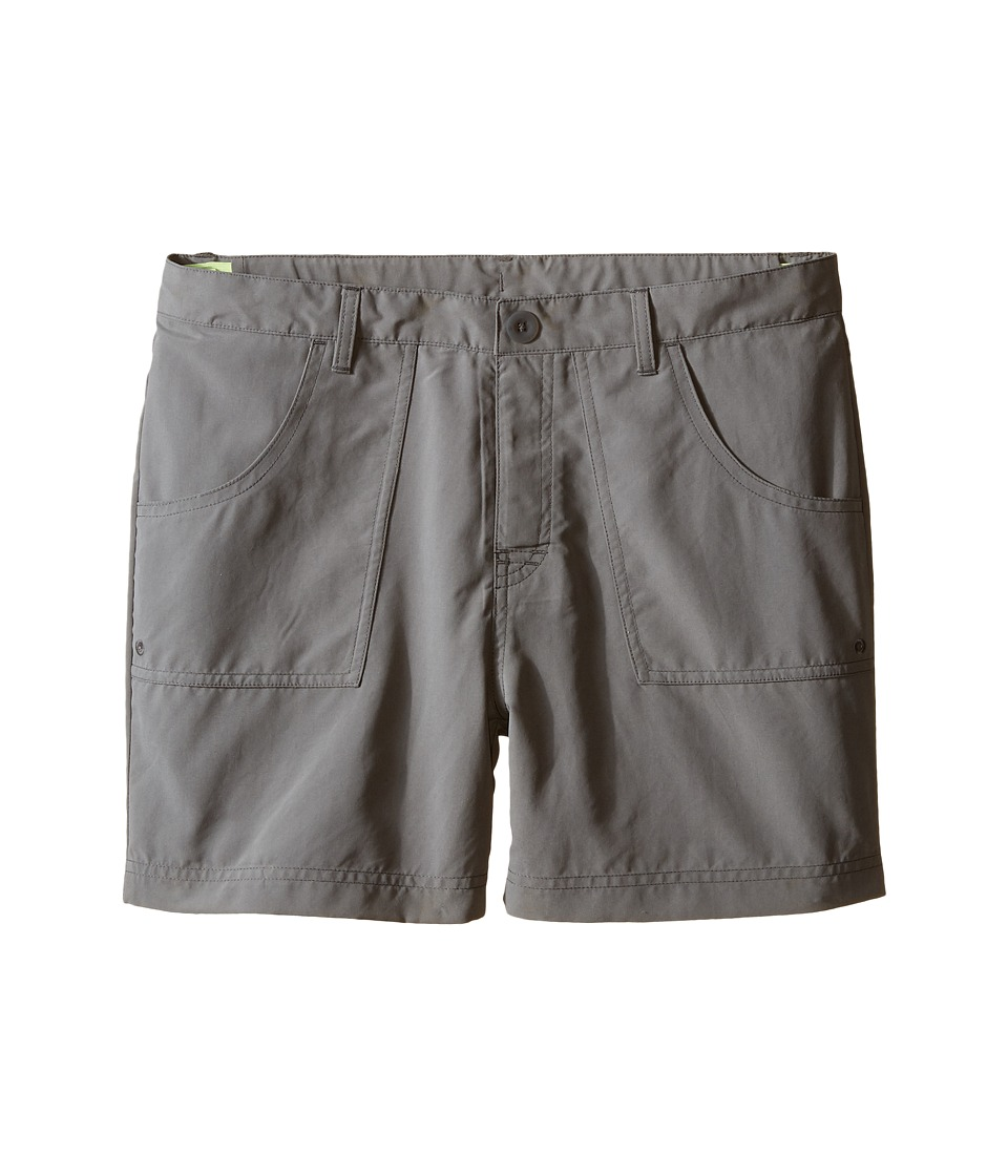 The North Face Kids Argali Hike/Water Shorts Little Kids/Big Kids Pache Grey/Pache Grey Girls Shorts