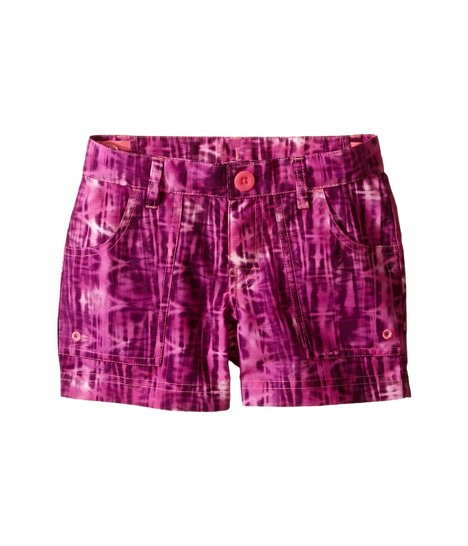 The North Face Kids Argali Hike/Water Shorts Little Kids/Big Kids Cha Cha Pink Reeds Print Girls Shorts