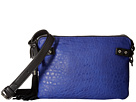 French Connection Camden Crossbody (Monarch Blue/Black)