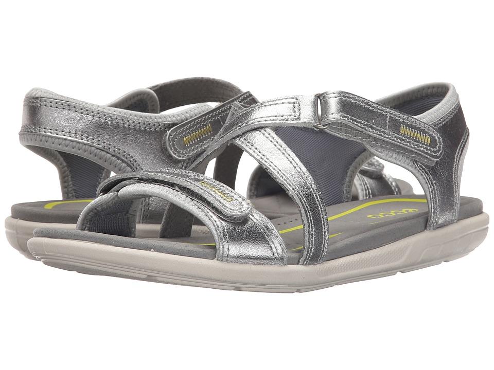 ECCO Bluma Strap Sandal Alusilver Womens Sandals