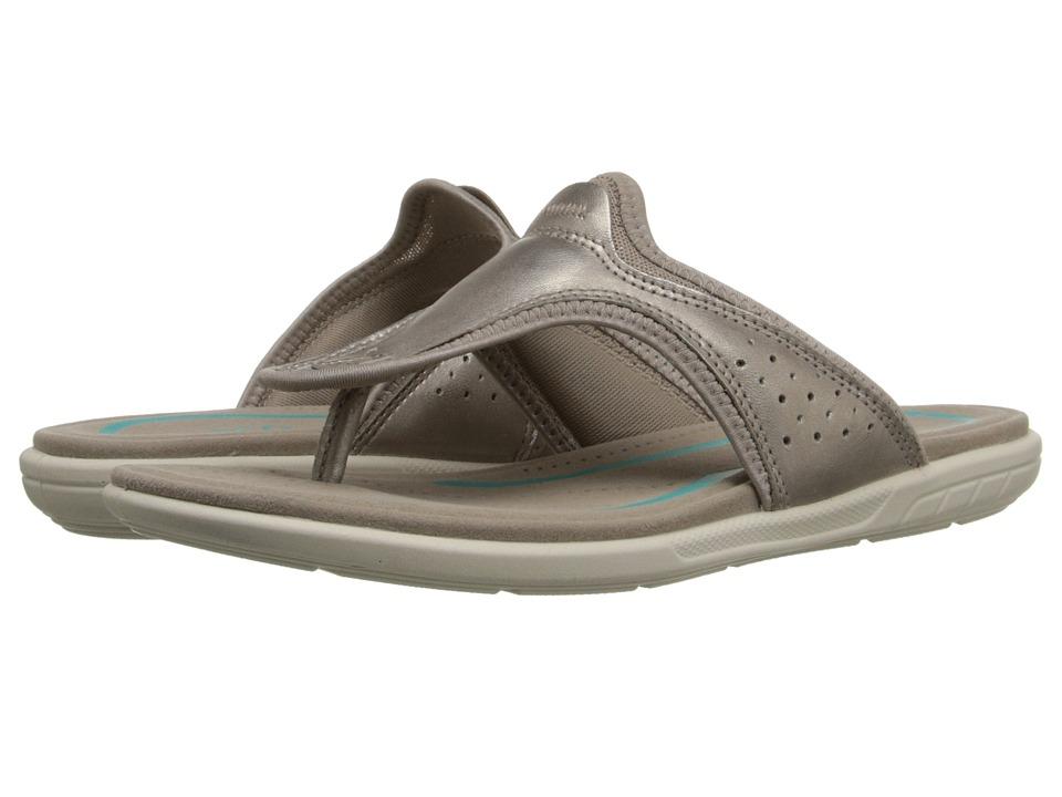 ECCO Bluma Thong Moon Rock Womens Sandals