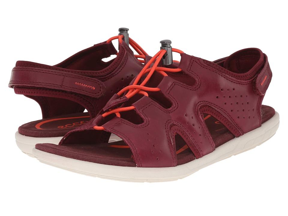 ECCO Bluma Toggle Sandal Morillo Womens Sandals