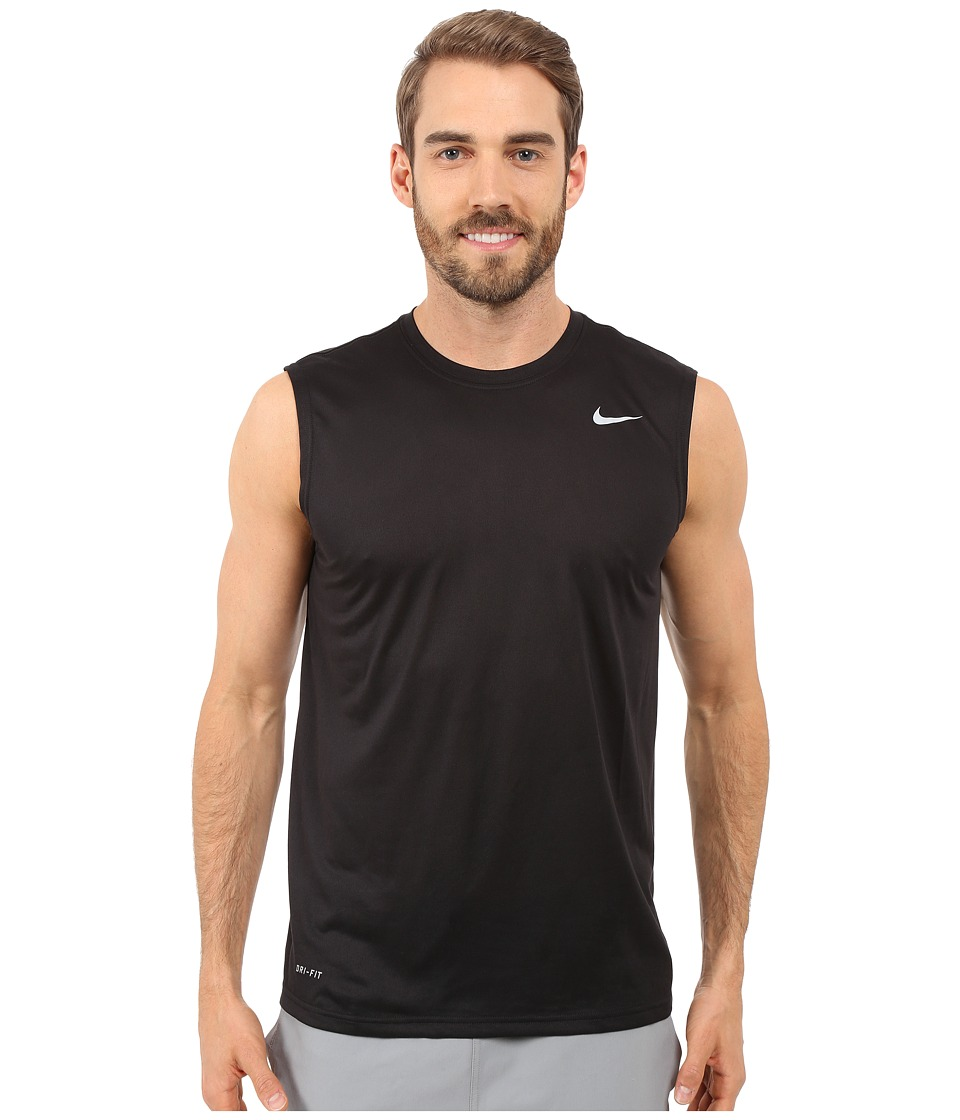 Nike Legend 2.0 Sleeveless Tee (Black/Black/Matte Silver) Men