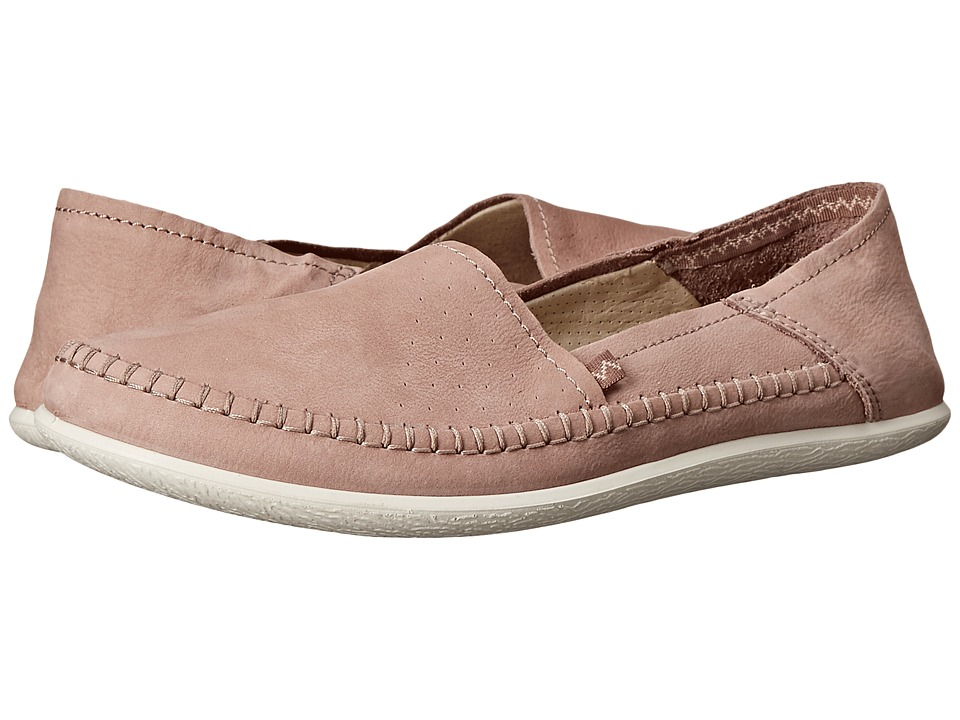 ECCO Easy L Moc Woodrose Womens Moccasin Shoes