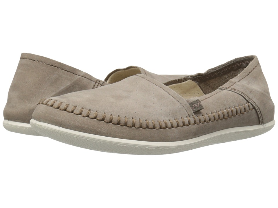 ECCO Easy L Moc Stone Womens Moccasin Shoes