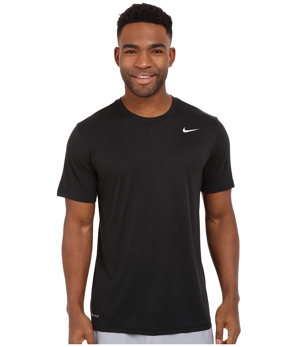 Nike Legend 2.0 Short Sleeve Tee (Black/Black/Matte Silver) Men