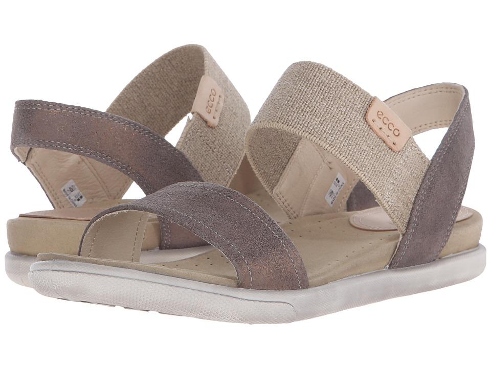 ECCO Damara Ankle Sandal Warm Grey Womens Sandals