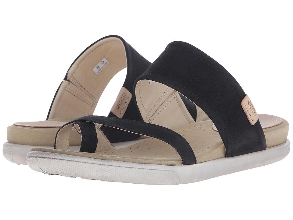 ECCO Damara Sandal Black Womens Sandals