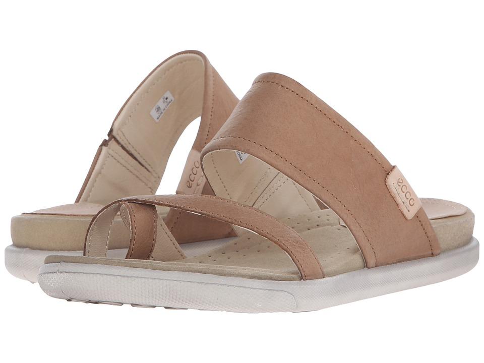 ECCO Damara Sandal Camel Womens Sandals