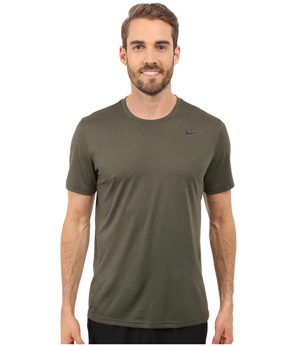 Nike - Legend 2.0 Short Sleeve Tee (Cargo Khaki/Black/Black) Men
