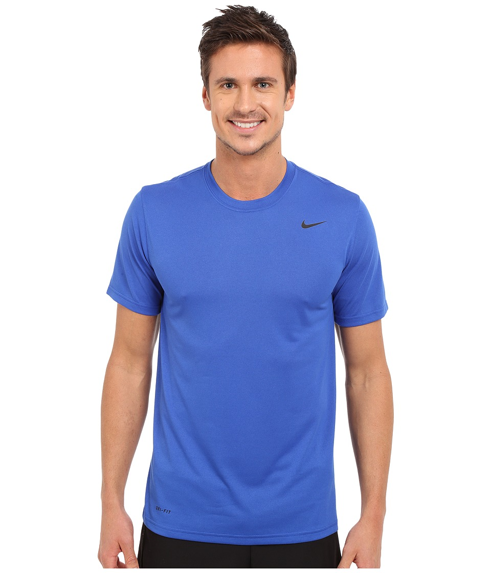 Nike Legend 2.0 Short Sleeve Tee (Game Royal/Black/Black) Men