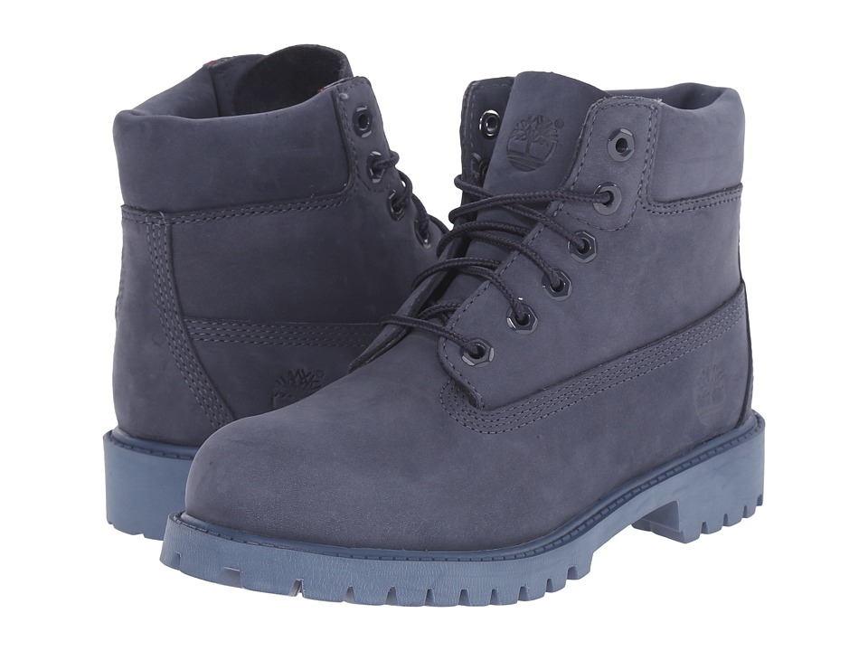 Timberland Kids 6 in Premium Waterproof Boot Little Kid Navy Monochromatic Nightshadow Kids Shoes