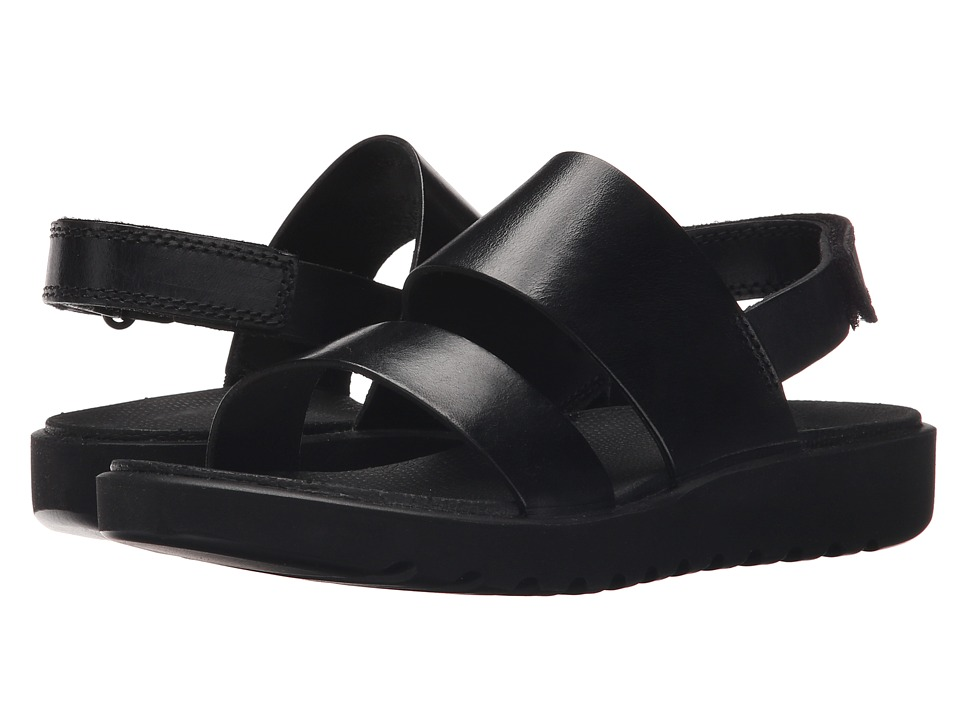 ECCO Freja 2 Strap Sandal Black Womens Sandals