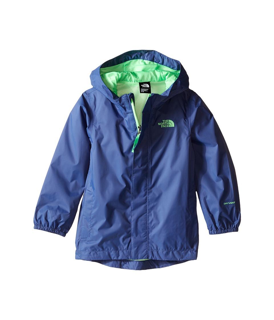 The North Face Kids - Tailout Rain Jacket (Toddler) (Pelagic Blue) Boy