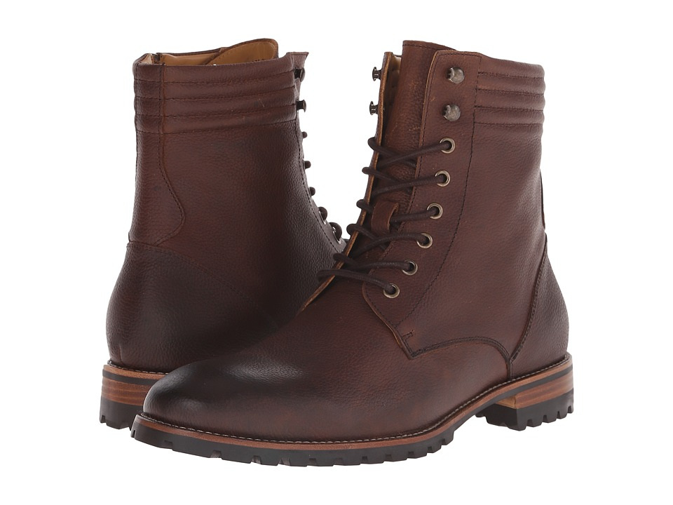 Ron White Warren Rust Oiled Tumbled Calf Mens Boots