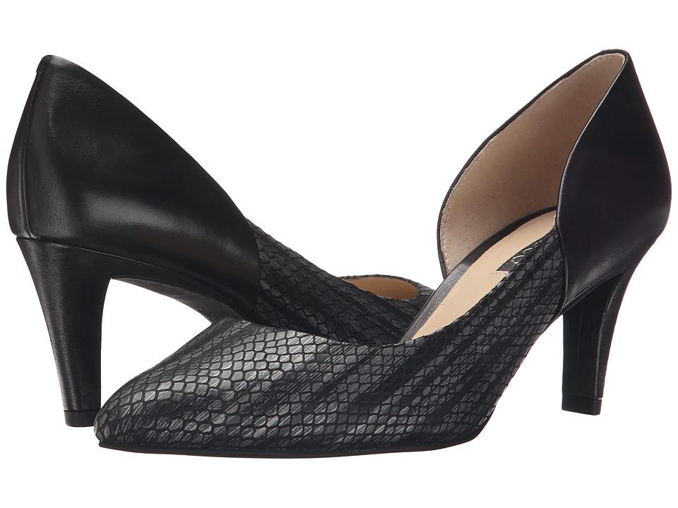ECCO Belleair Pump Black/Gold Antic/Black High Heels