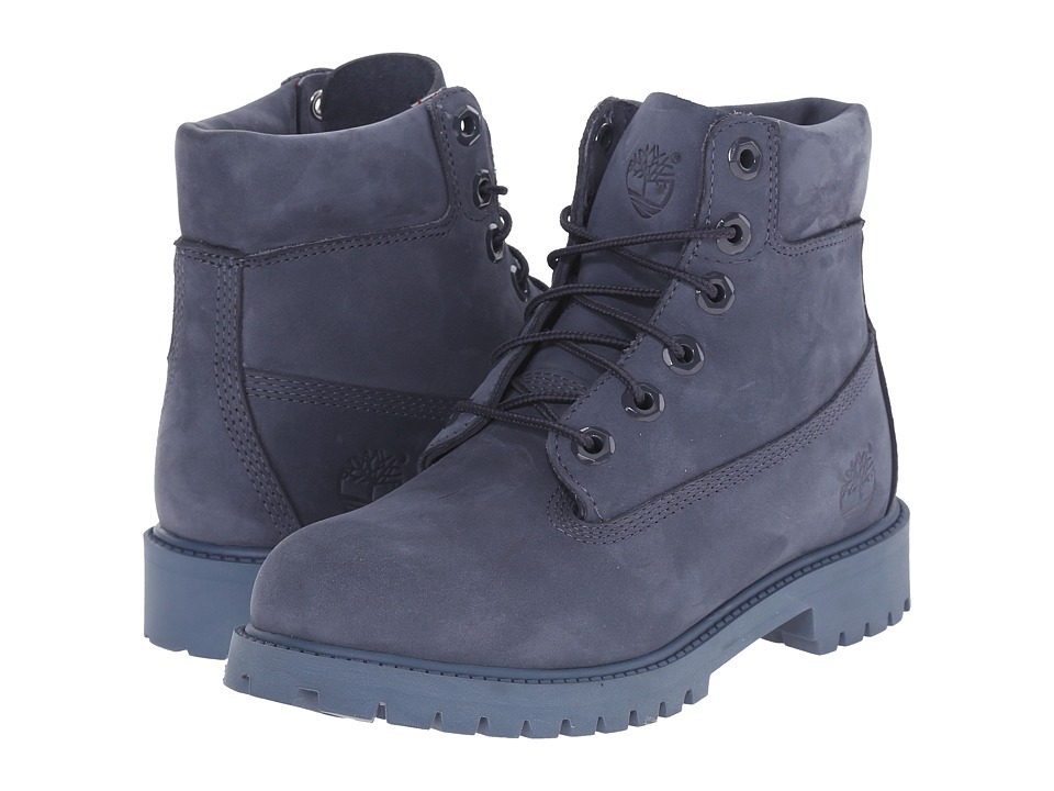 Timberland Kids 6 in Premium Waterproof Boot Big Kid Navy Monochromatic Nightshadow Kids Shoes
