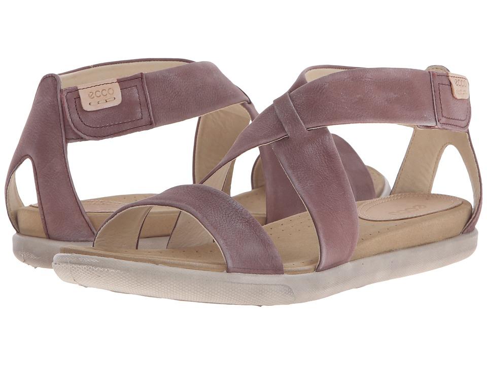ECCO Damara Strap Sandal Dusty Purple Womens Shoes