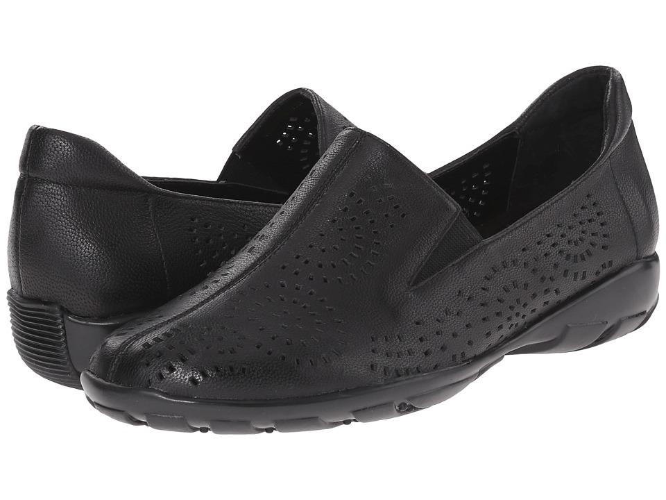 Vaneli Alisha Black Nubia Womens Slip on Shoes