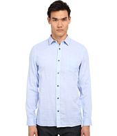 Vince - Long Sleeve Square Hem Double Face Shirt