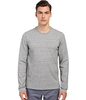 Vince - Long Sleeve Double Knit Crew Neck T-Shirt