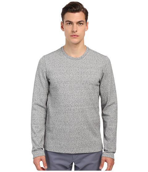 Vince Long Sleeve Double Knit Crew Neck T-Shirt