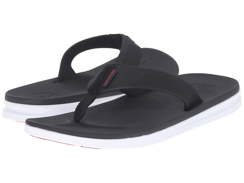 Volcom - Draft Sandal (Black Combo) Men