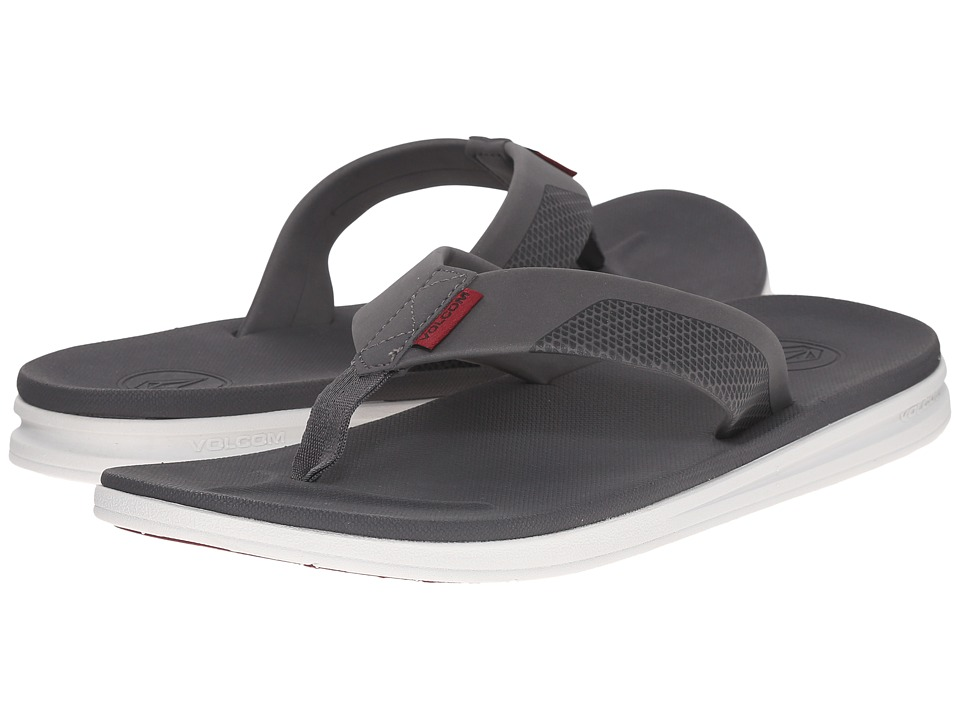 Volcom - Draft Sandal (Cool Grey) Men