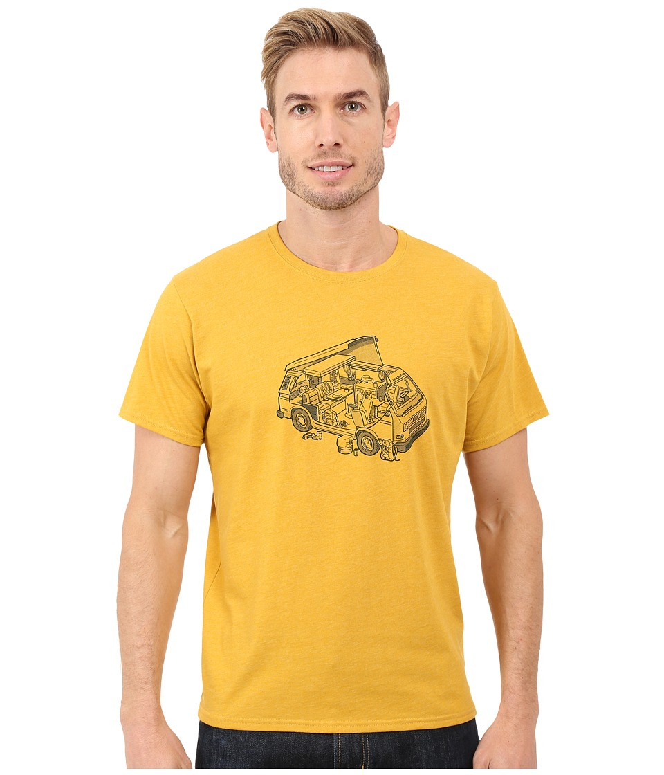 Mountain Hardwear - Van Life S/S Tee (Heather Inca Gold) Men