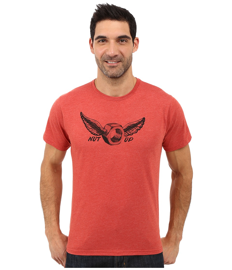 Mountain Hardwear - Nut Up S/S Tee (Heather Dark Fire) Men
