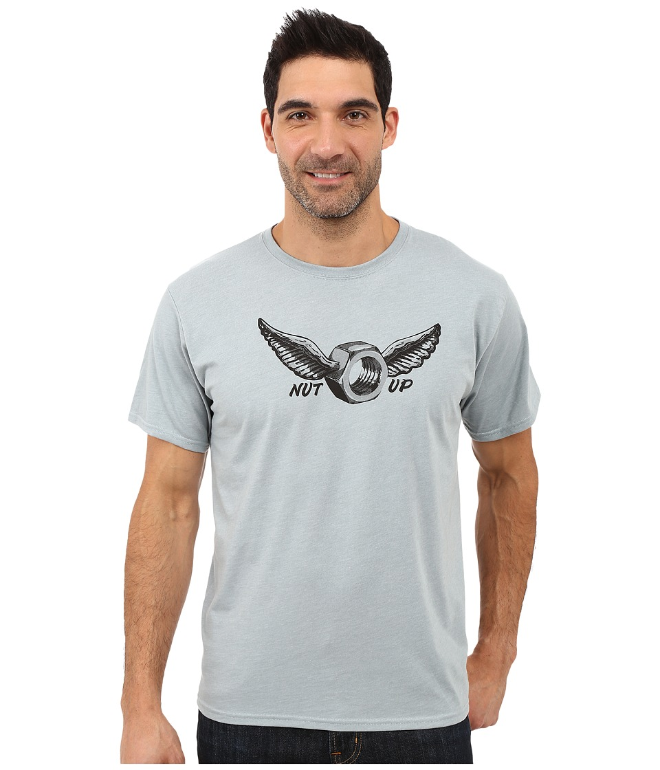 Mountain Hardwear - Nut Up S/S Tee (Heather Ice Shadow) Men