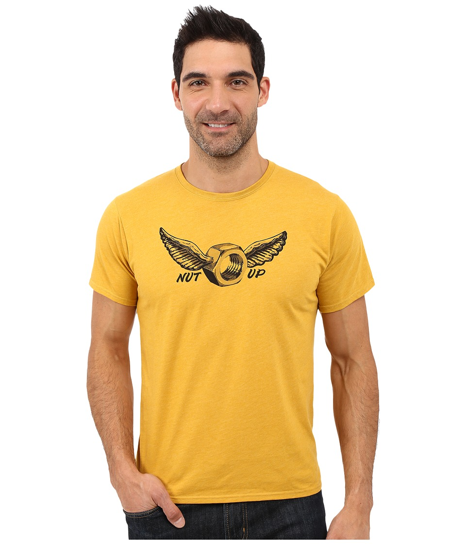 Mountain Hardwear - Nut Up S/S Tee (Heather Inca Gold) Men