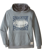 The Original Retro Brand Kids - Sunday Monday Funday Hooded Fleece Sweatshirt (Big Kids)