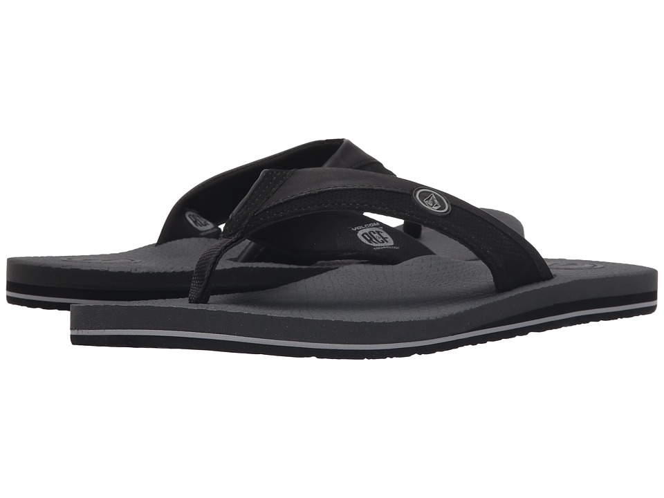 Volcom - Lounger (Black Charcoal) Men