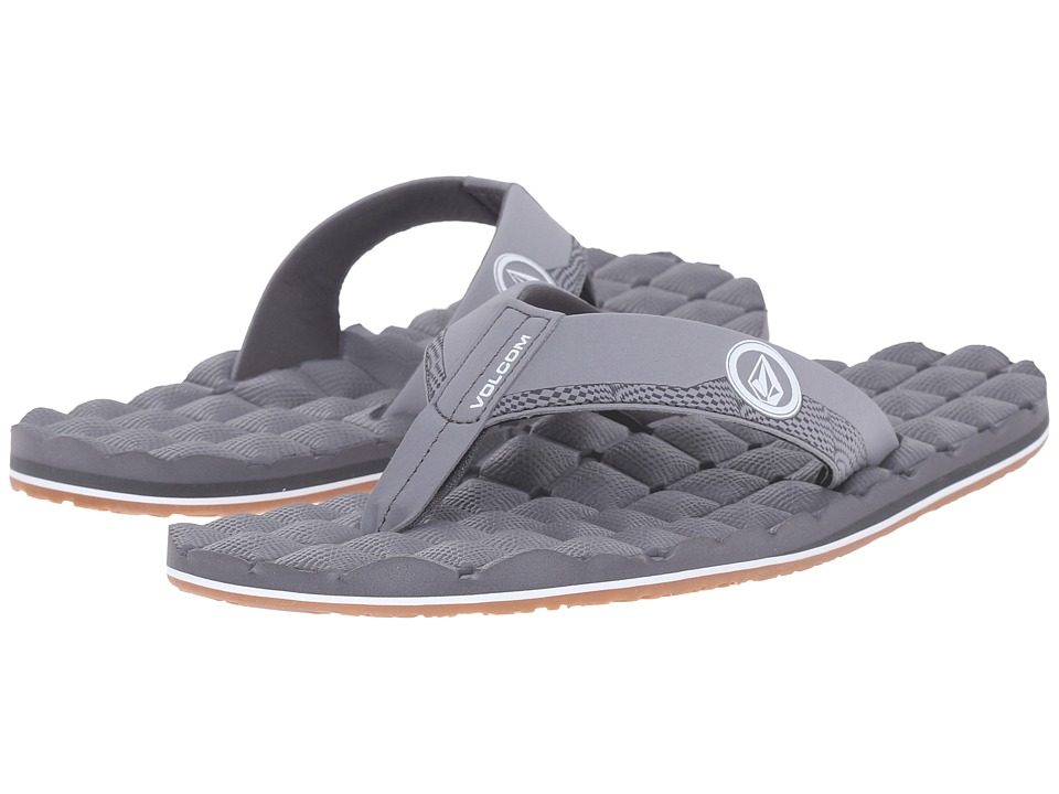 Volcom - Recliner (Light Grey) Men