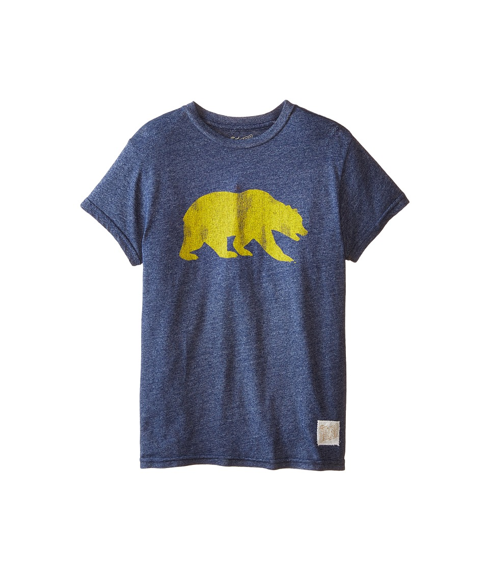 The Original Retro Brand Kids - Cal Bears Short Sleeve Tee (Big Kids) (Mock Twish Navy) Boys T Shirt