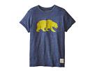 The Original Retro Brand Kids Cal Bears Short Sleeve Tee (Big Kids)