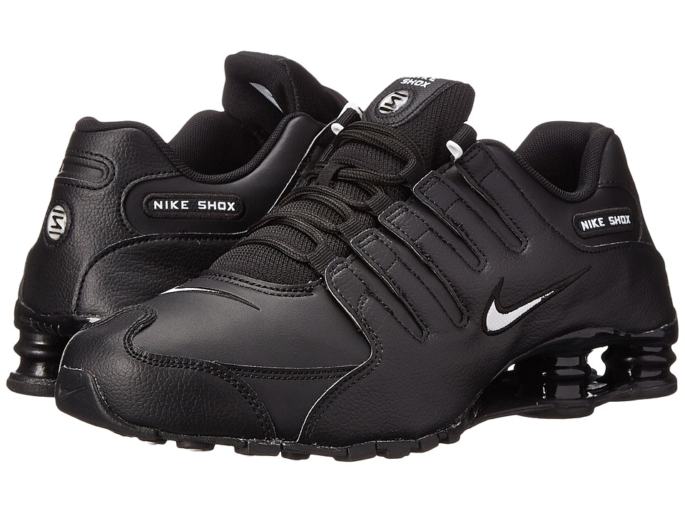 Nike Shox NZ EU (Black/White/Triple Black) Men's Running ...